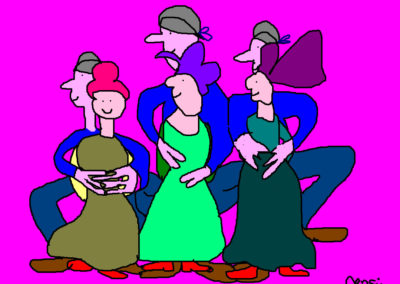 dansende-vrouwen-met-hun-mannen